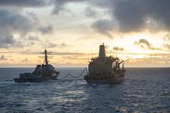 160916-N-PD309-005 (SurfaceWarriors) Tags: benfold japan navy sailor underway philippinesea