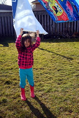 Allanah (haunted snowfort) Tags: family playing girl easter children child little young smiles niece laundry ones allanah weekened