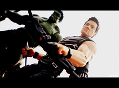 Hawkeye and Hulk (THE AMAZING KIKEMAN) Tags: man black america comics movie scott toy james spider amazing iron action bruce steve banner spiderman andrew cyclops tony lizard scorpion peter xmen captain figure legends carnage barton hawkeye clint rogers curt hulk logan biz thor marvel stark universe widow natasha garfield rhys parker crossbones avengers wolverine connors select 2012 hasbro summers the romanoff howlett ifans phothography