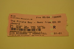 "Ticket to ""The Pirate Bay - Away From keyboard"" film"