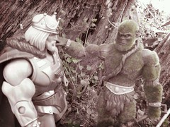 Returning to the Green (Barbecue17) Tags: motu heman mastersoftheuniverse castlegrayskull matteltoys motuc flickrandroidapp:filter=paris kingheman