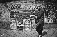 Where does the God stand? (Ebtesam Ahmed) Tags: pakistan streets poster graffiti downtown muslim islam religion mosque posters western walls roads karachi islamic saddar
