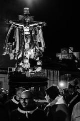 DSC_9474 - Holy Friday procession (Fabio Bruno) Tags: night religious christ cross god jesus parade passion crucifix procession crucifixion goodfriday holyfriday