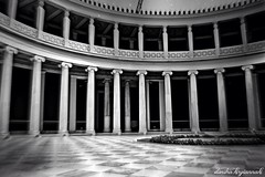 the souls of the ancient Greeks... (Dimitra Kirgiannaki .*spring-lover ) Tags: blackandwhite blur architecture greek photography spring geometry athens greece april colum blackdiamond ancientgreece dimitra 2013 blackwhitephotos zappeio nikonflickraward nikond3100 uploaded:by=flickrmobile flickriosapp