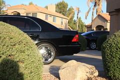 IMG_5086 (Ryan M Lambert) Tags: 2002 3 black wheels chrome 02 pre third custom gen luxury generation ls cl 3rd onyx lexus 430 facelift ls430 ucf30 prefacelift