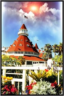 Hotel del Coronado ~ Film  1990's ~ Coronado Ca