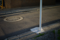 (noji-ichi) Tags: street leica light shadow japan 50mm tokyo alley   nightfall afterglow m9   summar leitz