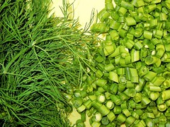 Grne Bohnen mit Dill ... (RenateEurope) Tags: green vegetables dill beans nikon tasty fresh delicious coolpix uncooked anethumgraveolens s8000 greenbeautyforlife