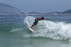 Surf at Ipanema Beach 2013 (alobos Life) Tags: boy sea brazil man cute men guy sol praia beach sport rio brasil de fun outdoors happy mar nice surf janeiro body candid garoto playa surfing enjoy deporte brazilian alegria chico olas