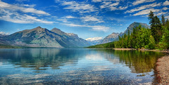 Lake McDonald View (Jeff Clow) Tags: lake nature landscape bravo glaciernationalpark lakemcdonald tpslandscape