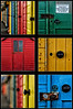 Whitby Tych Panel (Russ Dixon Photography) Tags: doors whitby beachhuts olddoor tych tychpanel dervishimages