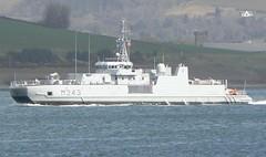 KNM Hinnoey M343 (3) @ Greenock 15-04-13 (AJBC_1) Tags: uk england riverclyde boat ship unitedkingdom military navy vessel nato warship minesweeper mcv navalvessel m343 norwegiannavy minehunter jointwarrior knmhinnoy ajc ajc