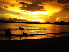 Sunset at Krabi Island