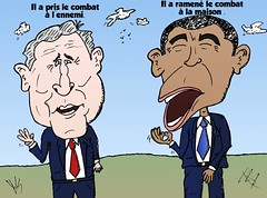infos options binaires caricature bush et obama strategies pour combattre le terrorisme (binaryoptionsbinaires) Tags: news comics george bush caricature guerre politique obama webcomic option options nouvelles barack terreur actualits comique infos prsident politicien binaire stratgie binaires optionsclick