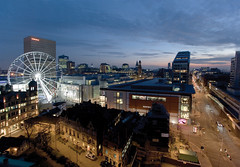 (adam.akhtar) Tags: city uk building architecture buildings manchester dawn construction dusk viewpoint vantagepoint