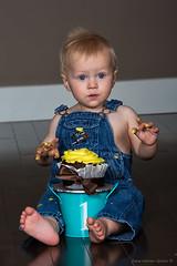 Smash Cake (ZWQphotos) Tags: birthday party cutie firstbirthday smashcake firstbirthdaysmashcake