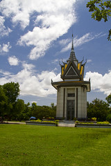 Phnom Penh, Cambodia - Choeung Ek Memorial (Matt Champlin) Tags: life city travel canon asia cambodia seasia khmer market buddhist country exotic temples tropical phnompenh phnomphen killingfields vietnamwar khmerrouge choeungek 2011 thekillingfields exoticcity phnompenhcamobodia