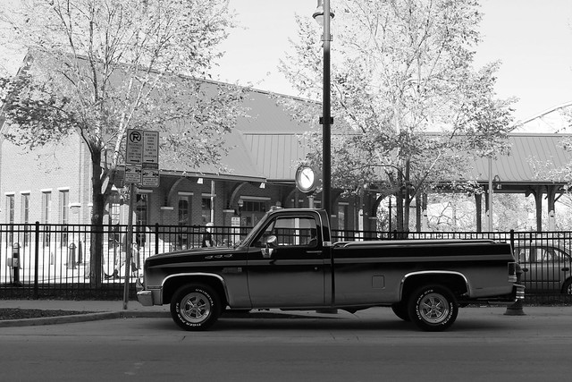 county city urban bw white black classic truck evening early spring 1982 gm downtown afternoon nashville tennessee district 1987 side wheels profile broadway saturday pickup sierra chrome american 1984 1981 april late 1983 custom 1986 ck 1985 davidson gmc mag mild generalmotors 1stave cragar 2013