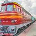 Electric Passenger Locomotive ChS4. Пассажирский электровоз ЧС4