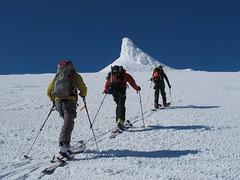 ski touring Iceland