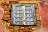 Blue Window - Explored (Paulo N. Silva) Tags: old building window glass ruins stones