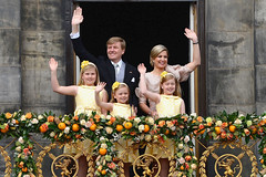 King of the Netherlands (HereIsTom) Tags: travel family orange holland netherlands dutch amsterdam 30 europe king view princess you ngc alexia nederland royal palace queen ariane views april alexander beatrix maxima willem oranje koninginnedag troon amalia webshots koningin koning koningshuis prinses 2013 kroning
