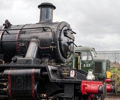 78019 and D123 at Lougborough (2) (brianaw2010) Tags: diesel peak railway steam steamrailway loughborough greatcentralrailway gcr 78019 d123 brstandard standardclass2