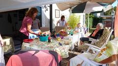 Getting drinks ready (Gabriele B) Tags: birthday home gabi dorothy susan gina debra celeste