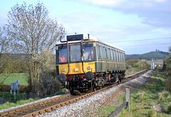 121034 (R~P~M) Tags: uk greatbritain england train diesel unitedkingdom buckinghamshire railway 121 bucks dmu chilternrailways littlekimble dbarriva