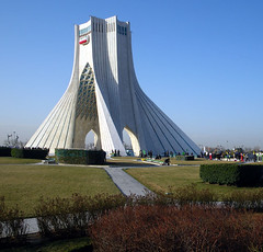 Azadi Square (Kombizz) Tags: iran lawn tehran islamicarchitecture azadi freedomtower 1391 azaditower 7815 azadisquare hosseinamanat sassanid tehranprovince  kombizz 22bahman  meydeaeazadi meydaneshahyad  shahydtower