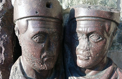 Tetrarchs, right heads close