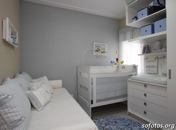 quarto de bebê espaço pequeno