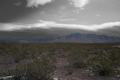 Franklin Mountains Far Away (Olacfz) Tags: park mountain mountains franklin texas state el paso range