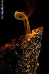 Censer XV (TJ.Photography) Tags: lamp metal handle fire gold golden shiny glow perfume shine treasure stones metallic smoking burning flame burn ornament smell oriental orient smoker burner artifact aromatic item incense luster jewel odor artefact aroma engrave smelling censer cense
