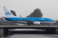PH-BGO (GerardvdSchaaf) Tags: aviation aircraft airplane civil airliner schiphol klm phbgo boeing737 boeing 737 eham
