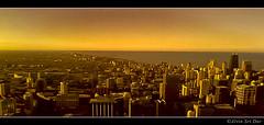 Chicago Sunset (VERODAR) Tags: city sunset chicago illinois cityscape chicagosunset illinoisusa willistower verodar veronicasridar