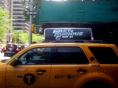 Fast and Furious 6 Billboard ADs 9930 (Brechtbug) Tags: new york city nyc urban 6 cinema cars up car racecar work painting movie poster this drive smash paint theater driving all action crash working fast racing billboard advertisement chase billboards worker roads gotham em six lead furious 2013