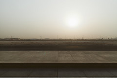Qatar (mike.lee.thomas) Tags: airport doha qatar 6am heatwave