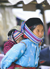 Quick capture ([B]ear) Tags: kid high north vietnam land ha ethnic giang h