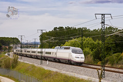 AVE en Sant Feliu de Buixalleu (UT440 131M) Tags: test ex train de tren photography la photo spain europa europe selva sigma railway zug catalonia girona ave alta catalunya 100 runs velocidad alstom sant serie trainspotting spotting 016 dg comerciales ferrocarril renfe aleix pruebas trainspotter espaola alco unidad feliu espanya 247028 catalogne spotter corts adif ffcc elctrica barcelonasants administrador operadora hsm fiabilidad ferroviarias toulousematabiau gecalstom simulaciones canonistas 100016 s100f canoneos1000d ferrocat buixalleu deinfraestructuras
