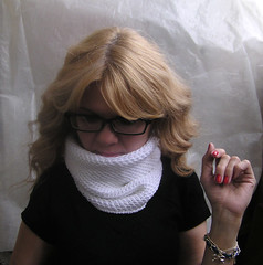 04 (kosha_knit) Tags: scarf knit cotton honey cowl 2013