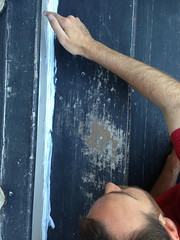 Sand the Porch! (lisawiz) Tags: sand paint steps repair porch homeimprovement