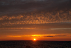 Lake Superior Sunset, Brighter (schandle) Tags: sunset michigan lakesuperior calumet waterworkspark