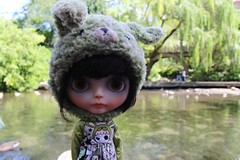 One of Sylvia's Girls at Crystal Springs Rhododendron Garden for the Spring Portland Blythe Meet!