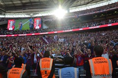 Play-Off Final - Watford 0-1 Crystal Palace (KickOffMedia) Tags: england game london loss sport promotion club ball football championship goal referee play post crystal kick stadium soccer south phillips atmosphere ground palace player celebration fields match pitch trophy kickoff fans win manager holloway fc score premier moritz spectator elton anya winners tackle league throw watford midfielder fa grassroots zola wembley striker gianfranco defender skill goalkeeper zaha playoff vydra linesman moxey deeney speroni tekkers bolasie dikacgoi