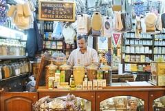 An apothecary's stall inside the Spice Bazaar (unlawyer) Tags: turkey market turkiye istanbul bazaar apothecary spicebazaar msrars mesirmacunu aphrodisiacofsultans