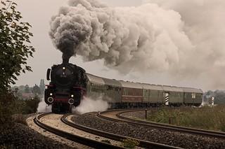 Dampf im Herbst - steamy autumn