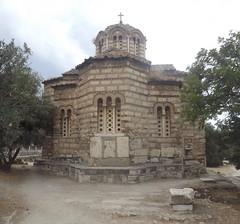 The Church of the Holy Apostles, Holy Apostles of Solaki (Άγιοι Απόστολοι Σολάκη) or Agii Apostoli (Αγιοι Αποστολοι Αθηνα), Ancient Agora of Athens, Greece
