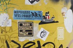Berlin (annamartta) Tags: berlin city citybreak street houses message slogan