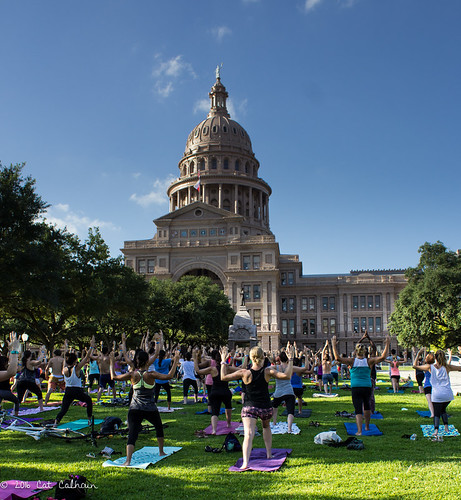 International Day of Yoga at the Capitol